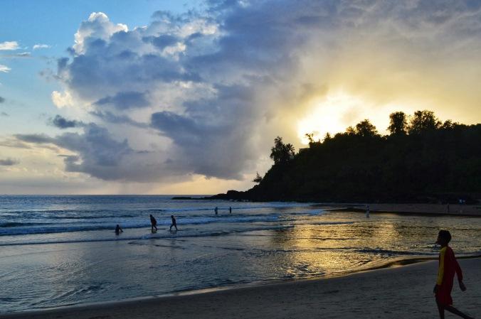 Sunset at Baga Beach